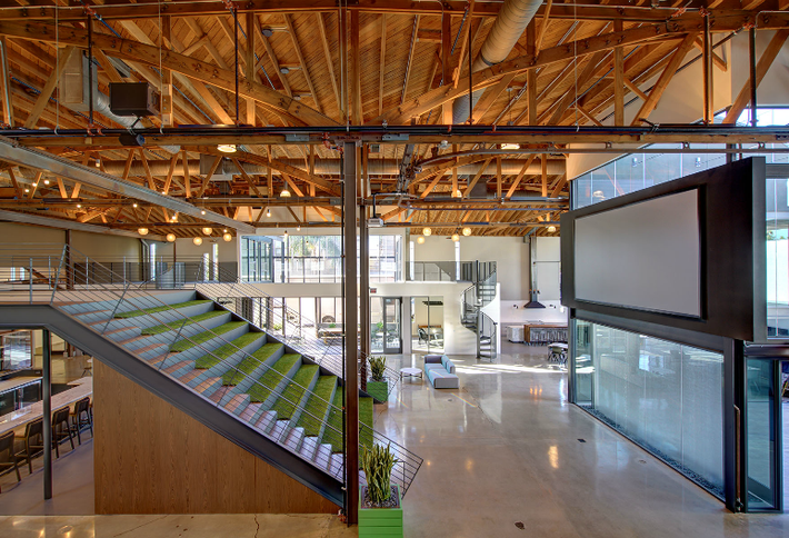 bisnow new creative office space opens in hollywood hq
